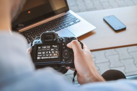 using a camera